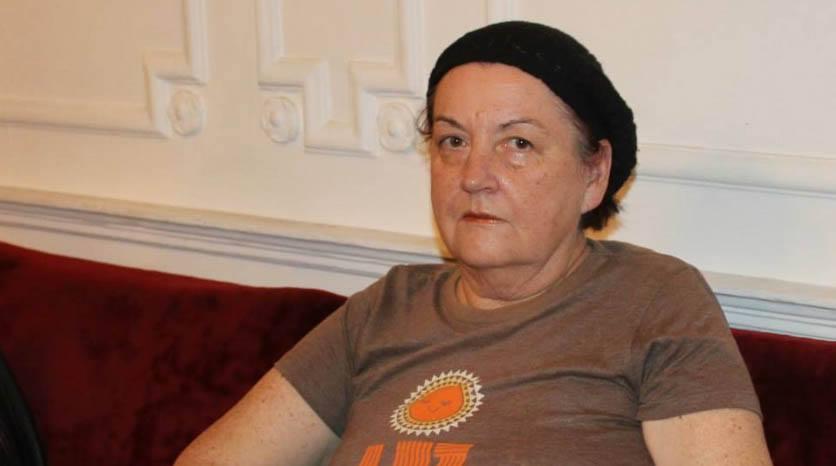 "Irena Lukšić FOTO: Igor Čepurkovski/Gradska knjižnica ""Ivan Goran Kovačić"